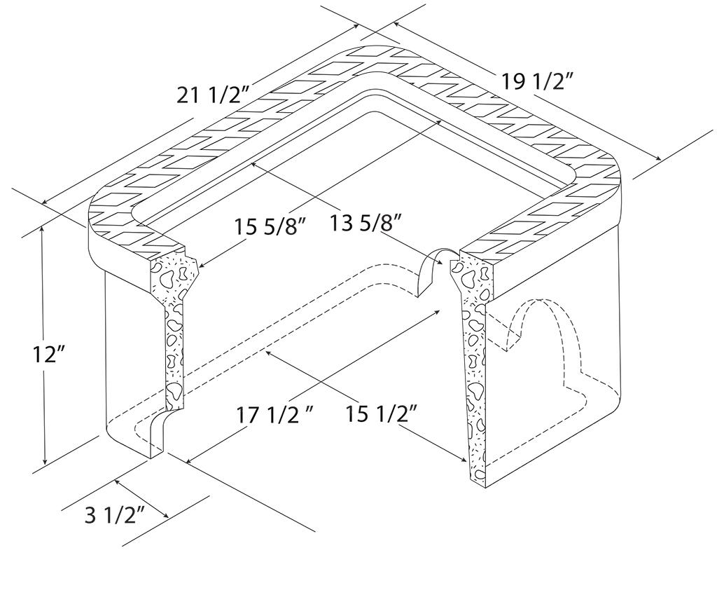 C.H. Dual Concrete Meter Boxes