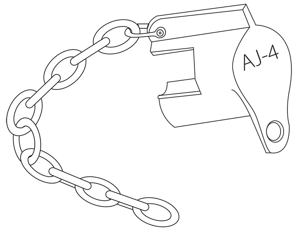 """AJ-4 3/4"""" Lock / AJ-4 1"""" Lock"""