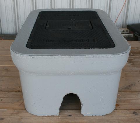"""C.H. 1 1/2"""" Concrete Meter Box"""