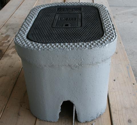 """C.H. 3/4"""" Concrete Meter Box"""