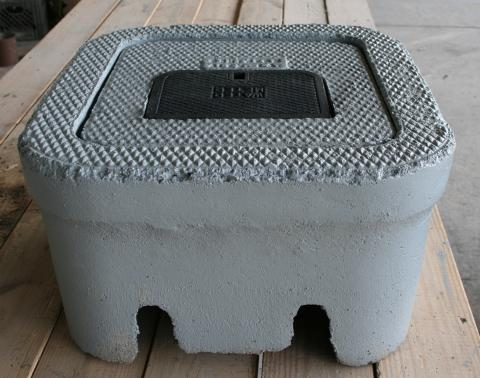 concrete water meter box