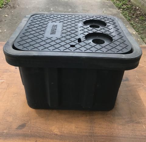 S.H. 1416 Meter Box